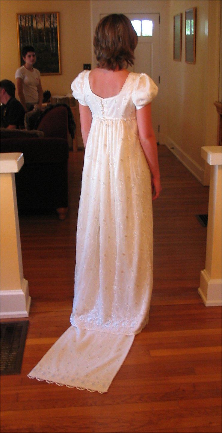 Regency Style Wedding Dresses 111